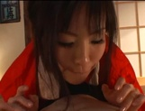 Sexy adoring asian milf sucks and rides pretty well picture 37