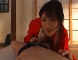 Sexy adoring asian milf sucks and rides pretty well picture 45