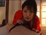 Sexy adoring asian milf sucks and rides pretty well picture 46