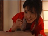Sexy adoring asian milf sucks and rides pretty well picture 48