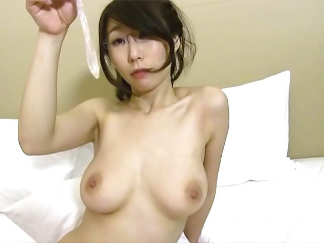 Ayumi Shinoda, Asian babe with big tits and glasses gets nailed hard
