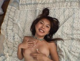 Curvaceous Mai Hagiwara banged and cummed on picture 134
