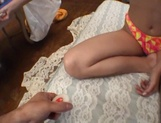 Curvaceous Mai Hagiwara banged and cummed on picture 4