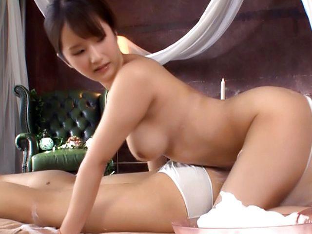 Osaki Mio enjoys a sensual pleasurable fuck