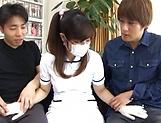 Sakura Chinami gets fucked in a threesome