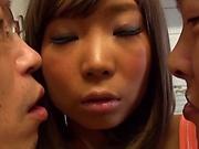 Busty Asian beauty Yuuki Seri gets penetrated hard