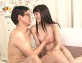 Young Asian teen Minami Hirahara having her tight pussy slammed