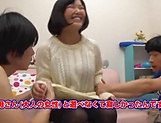 Lovely Risa Shiori has her cunt creamed picture 11