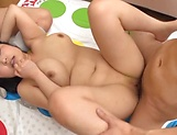 Lovely Risa Shiori has her cunt creamed picture 198