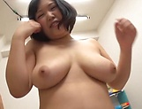 Lovely Risa Shiori has her cunt creamed picture 66