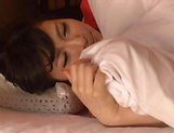 Pretty Asian doll woken up to a hardcore picture 11