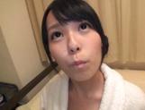 Stunning Tokyo teen Suzuka Morikawa gets her shaved pussy dildoed hard