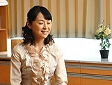 Erina Sugisaki, mature babe, fucked hard and made to swallow picture 11