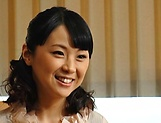 Erina Sugisaki, mature babe, fucked hard and made to swallow picture 12