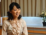 Erina Sugisaki, mature babe, fucked hard and made to swallow picture 15
