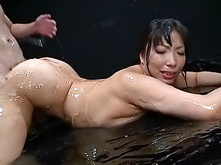 Nice Asian Sankihon NozomiIku enjoys a wild kinky session