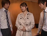 Kinky Tomoe Nakamura gets smashed in foursome picture 5