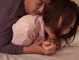 Busty Asian babe Hoshino Hibiki loves being fucked picture 11