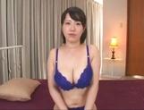 Mature Asian babe,Anna Kishi, gets facial after hardcore humping