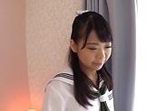 Beautiful Japanese babe enjoys hot threesome