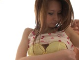Hoshino enjoys her shaved pussy licked