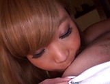 Yuuki Seri oiled up for an amazing session picture 21