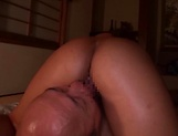 Yuuki Seri oiled up for an amazing session picture 77
