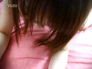 Cute young Asian babe Kaoru Umemiya uses toys before she fucks