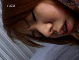 Lovely Asian redhead teen cannot get enough of cock picture 14