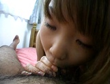 Busty Japanese teen Momoko Tabata gets experience with a vibrator