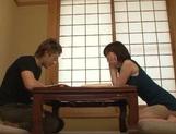 Bubble butt Asian hottie Nao Mizuki enjoys a kinky play with cock
