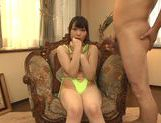 Busty Sunao Sakura enjoys massive cock to suck and fuck picture 12