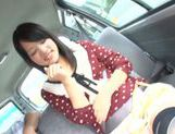Hot Japanese sex doll Mikako Abe in hardcore Asian pov action picture 15