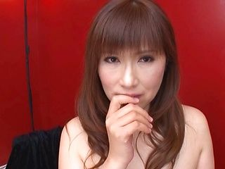 Busty Reiko Shimura wants hot cum in mouth