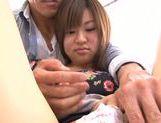 Young Ayumi Mochizuki recives hard pounding action picture 14