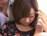 Young Ayumi Mochizuki recives hard pounding action picture 15