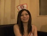 Gorgeous Japanese maid makes toy insertion and sucks rod on pov