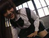 Teeny gets ravaged in full asian pov cosplay hardcore picture 15