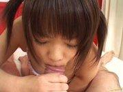 Nao Tachibana Asian model gives an amazing blowjob