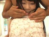 Young and nasty Sunao Sakura gets hard fucked picture 12