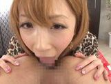 Beautiful Aya Kisaki Asian babe in hot lingerie for sex picture 36