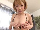 Beautiful Aya Kisaki Asian babe in hot lingerie for sex picture 52