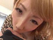Beautiful Aya Kisaki Asian babe in hot lingerie for sex
