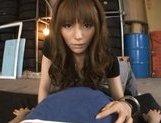 Sweet Japanese girl Rio in wonderful Japanese pov porn action