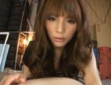 Sweet Japanese girl Rio in wonderful Japanese pov porn action picture 15