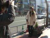 Erisa Mochizuki is a hot Japanese girl gives an amazing blowjob