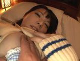 Sexy Japanese girl with bubble ass Ai Uehara fucked on pov video picture 52