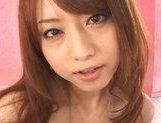 Sweet Japanese AV model Akiho Yoshizawa rides dick on Asian pov picture 20