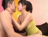 Glorious Asian girl Nozomi Hazuki gives Asian pov titfuck