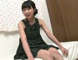 Stunning teen Miku Aono pleases older hunk picture 13